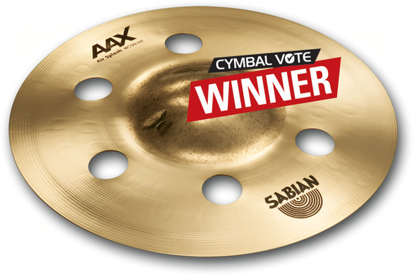 "Sabian AAX 10"" Air Splash Brilliant"