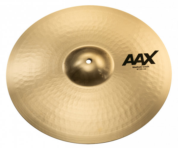 "Sabian AAX Medium Crash 18"" Brilliant"