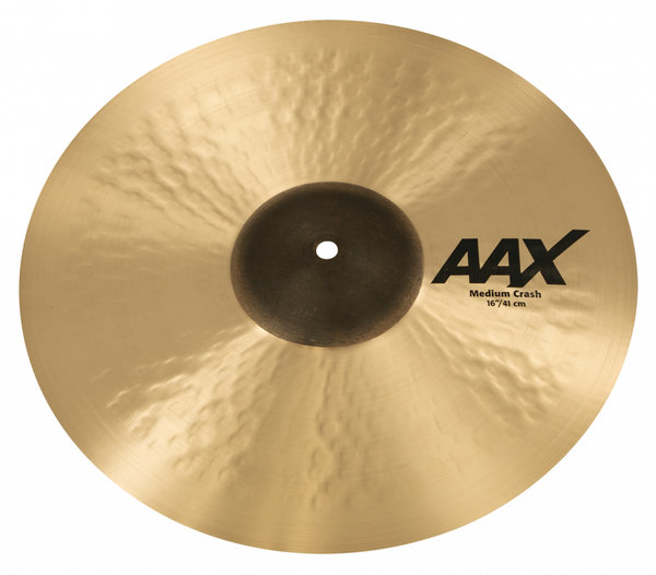 "Sabian AAX Medium Crash 16""  Brilliant"