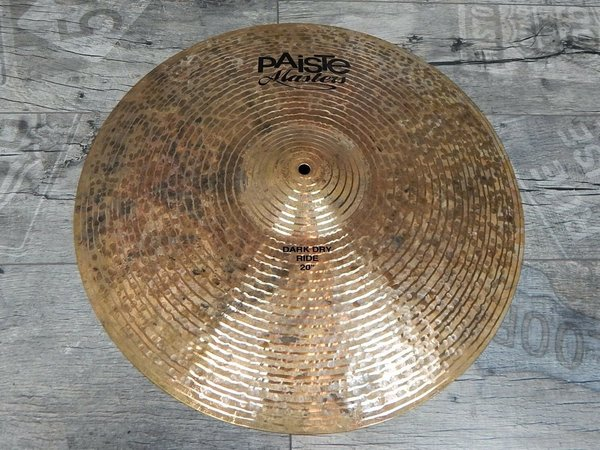 "Paiste Masters 20"" Dark Dry Ride -USED-"