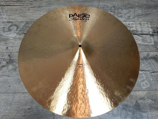 "Paiste Masters 24"" Thin Becken Crash / Ride -USED-"