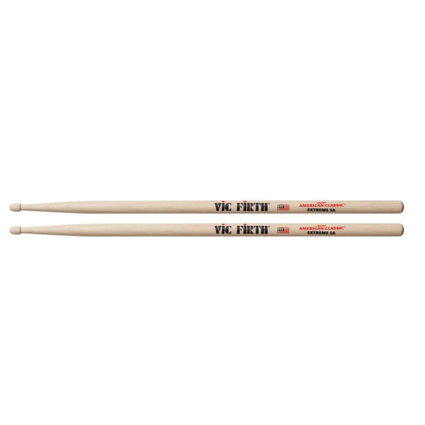 Vic Firth X5A American Classic Extreme 5A Hickory Drumsticks