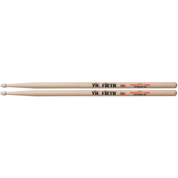 Vic Firth X5B American Classic Extreme 5B Hickory Drumsticks