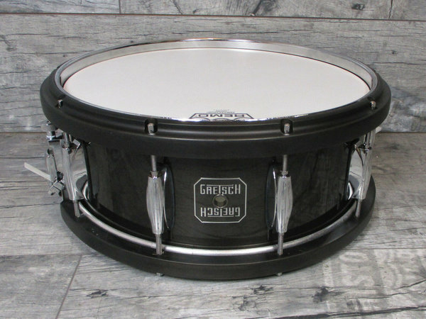 Gretsch S-5514WMH-BLK Maple Snare 14 x 5,5 Drum Wood / Metal Hoop -USED-
