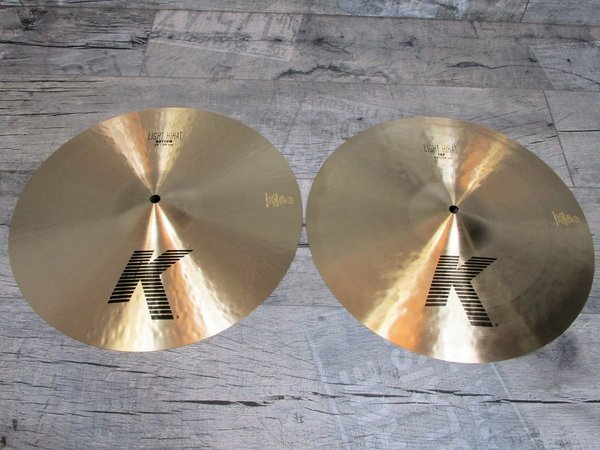 "Zildjian K Serie 15"" Light Hi-Hat Regular -USED-"