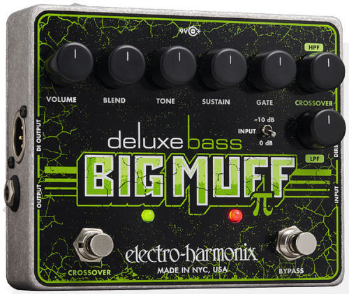 EHX Deluxe Bass Big Muff PI Distortion/Fuzz Electro Harmonix