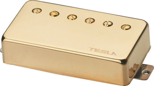 Tesla Pickup VR-60 Classic Vintage Reflection Neck Gold Tonabnehmer