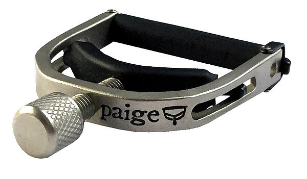Paige PBN Kapodaster für Banjo Mandoline Satin Nickel •Made in USA•