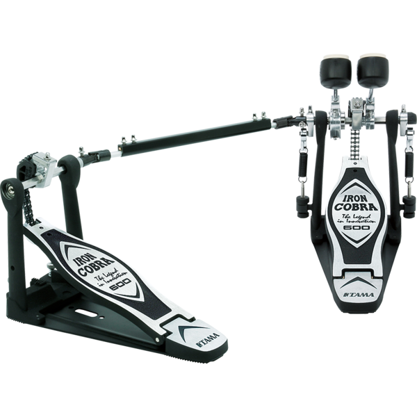 Tama Iron Cobra Twin Pedal Duo Glide HP600DTW