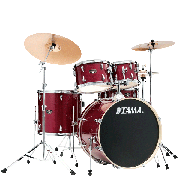 "Tama Imperialstar 20"" Drum Kit 5pcs - Candy Apple Mist IE50H6W-CPM"