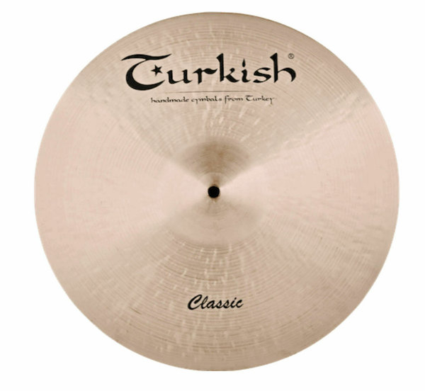 "TURKISH CYMBALS Classic Series 14"" Hi-Hat •handhammered & handpicked•"