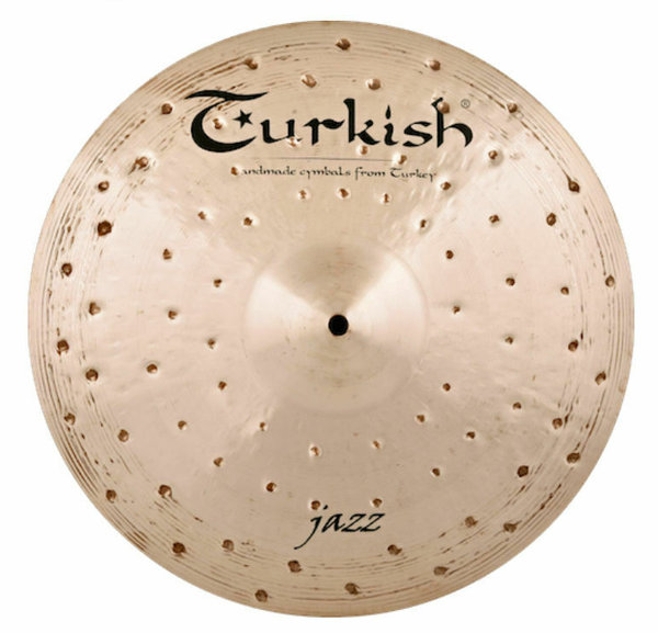 "TURKISH CYMBALS Jazz Series 14"" Light Hi-Hat •handhammered & handpicked•"