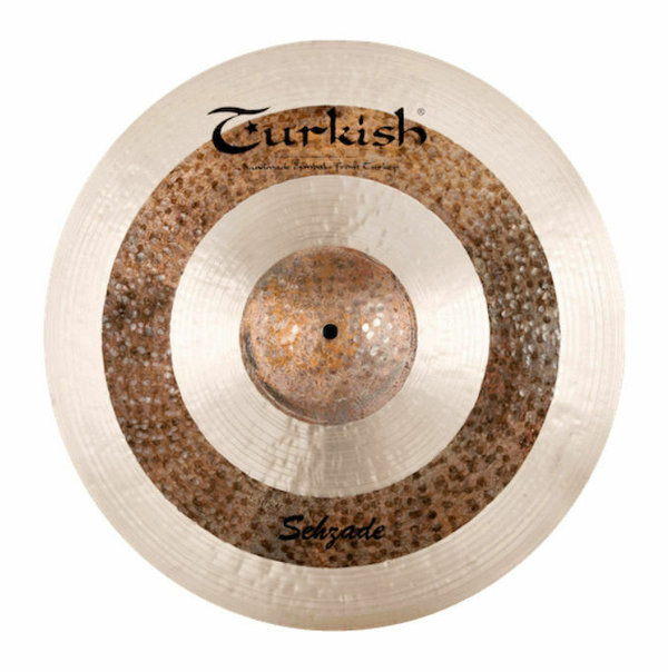 "TURKISH CYMBALS Sehzade Series 18"" Crash •handhammered & handpicked•"
