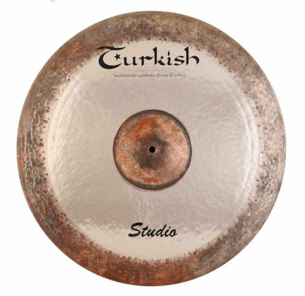 "TURKISH CYMBALS Studio Series 14"" Hi-Hat •handhammered & handpicked•"