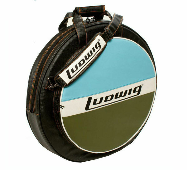 "Ludwig LXC1BO Atlas Blue Olive Classic Heirloom 22"" Cymbalbag"