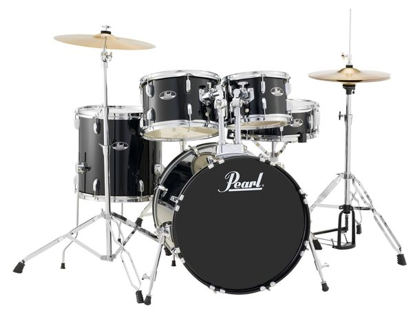 Pearl RS505C/C31 Roadshow Studio Jet Black Schlagzeug Set