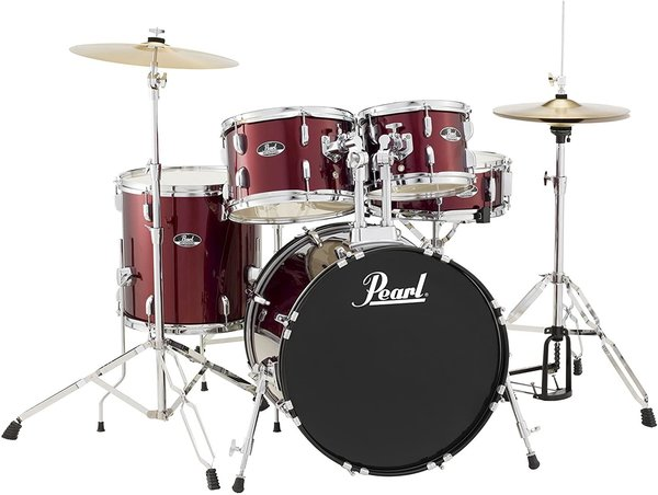 Pearl RS505C/C91 Roadshow Studio Red Wine Schlagzeug Set