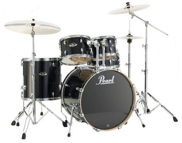 Pearl EXL705N/C248 Export Studio Black Smoke Schlagzeug Set lackiert