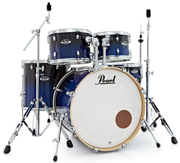 Pearl EXL705N/C257 Export Studio Sea Blue Fade Schlagzeug Set lackiert