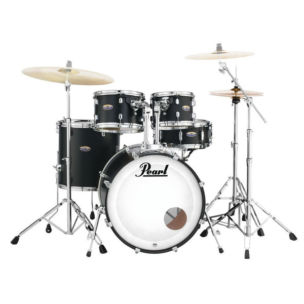 Pearl DMP905/C227 Decade Maple Satin Slate Black Schlagzeug Set lackiert