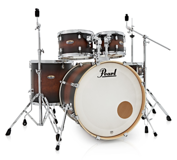 Pearl DMP925S/C260 Decade Maple Satin Brown Burst Schlagzeug Set lackiert