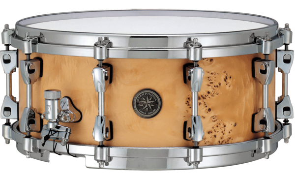 "Tama PMM146 Star­phonic Maple Snare 14"" x 6"" Satin Mappa Burl"