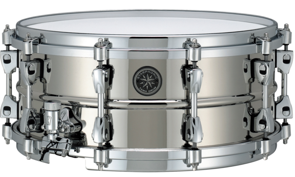 "Tama PBR146 Star­phonic Brass Snare 14"" x 6"" Nickel Finish"