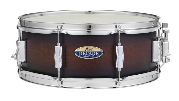 "Pearl DMP1455S C260 Decade Maple Snare 14"" x 5,5"" Satin Brown Burst"