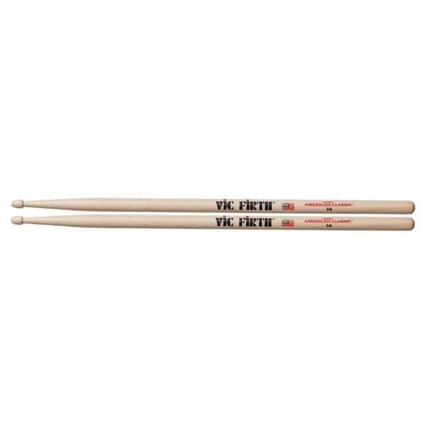 12 Paar Vic Firth American Classic 5A Drumsticks VF5A BUNDLE