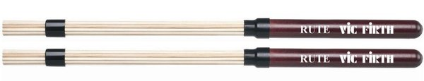 Vic Firth Rute VFRUTE 16 Stäbe Drumsticks Rods Brushes mit Holzgriff